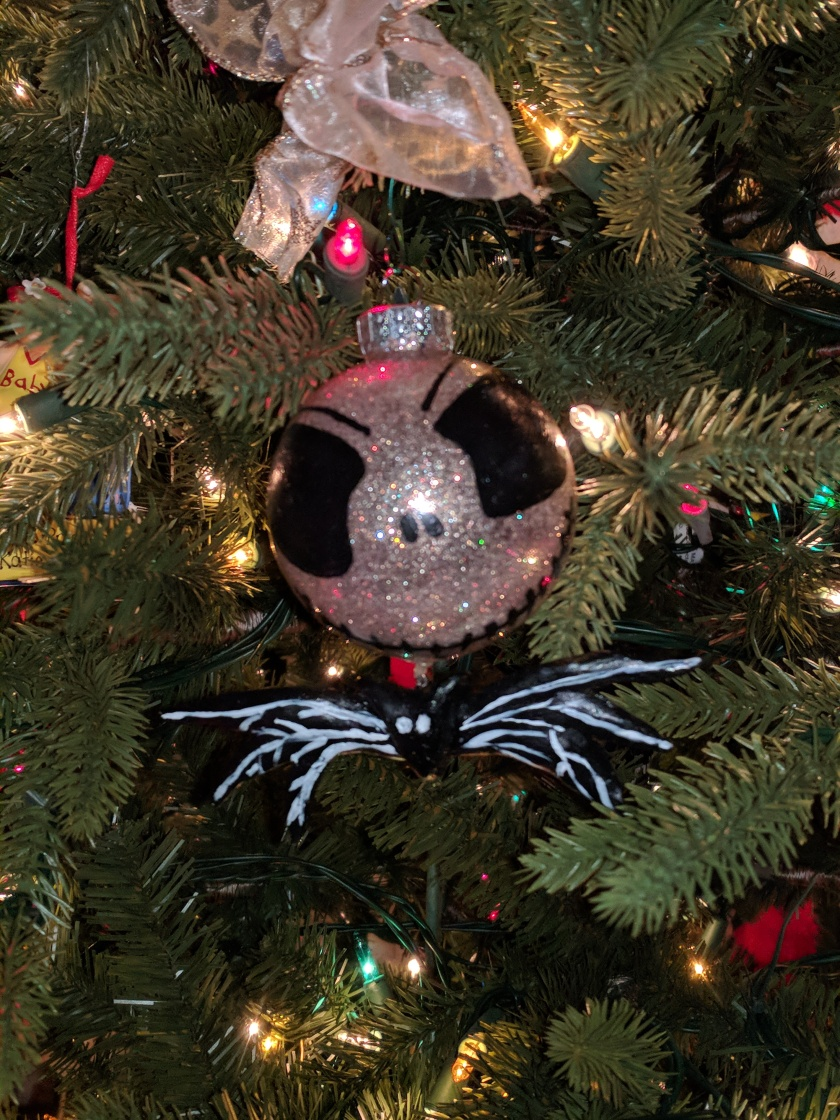 Jack Skellington and Sally Christmas Ornaments – Simply Meant to Be ...